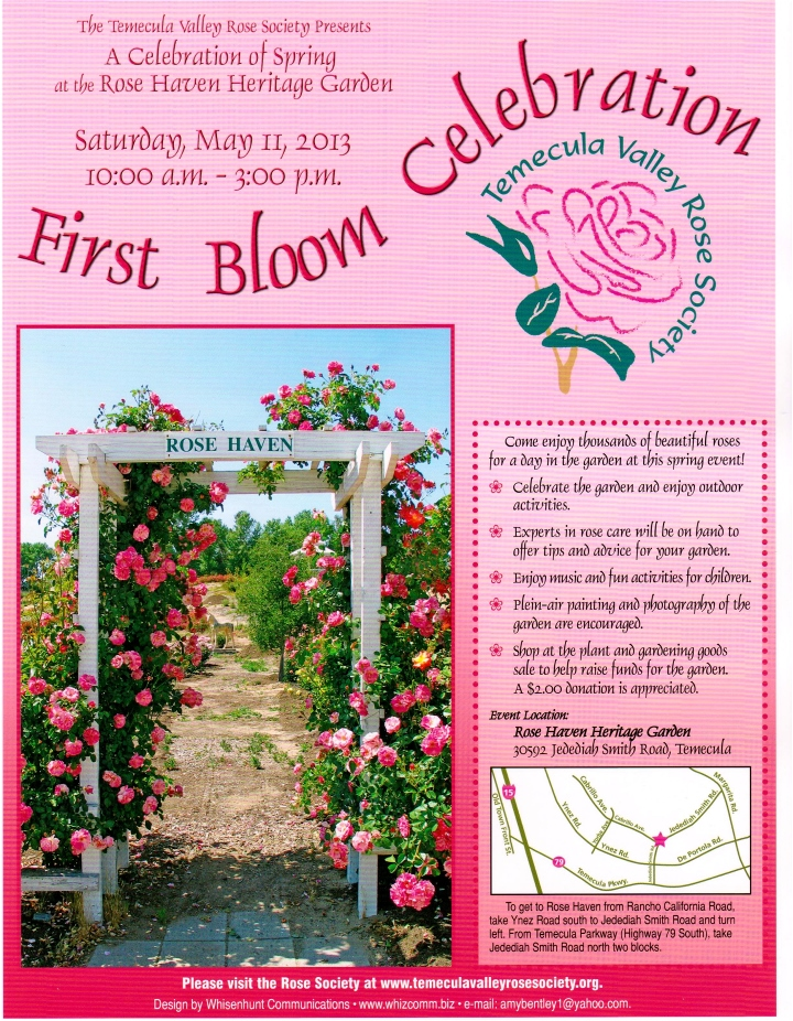 2013 1st Bloom Event